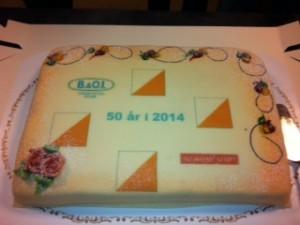 I fjor feiret vi med kake på Årsmøtet.