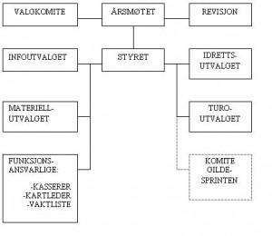 Organisasjonskart B&OI orientering