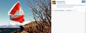 Elisabet har tatt i bruk instagram