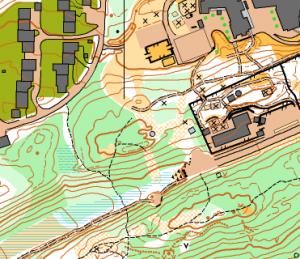 Kartutsnitt Bodøsjøen