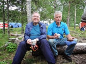 Geir Moen og Per Rekkedal, fra NNM 2013 (Heggmoen)