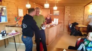 Martin Finstad og Per Rekkedal