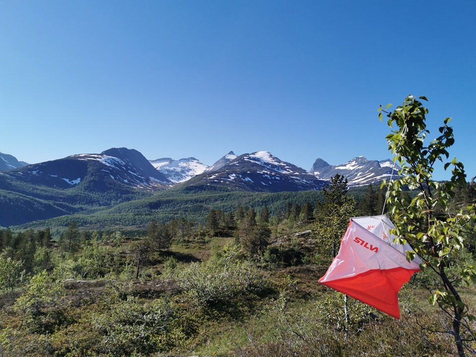 Start og mål ved Folkets hus, Jordbru i Øvre Valnesfjord.